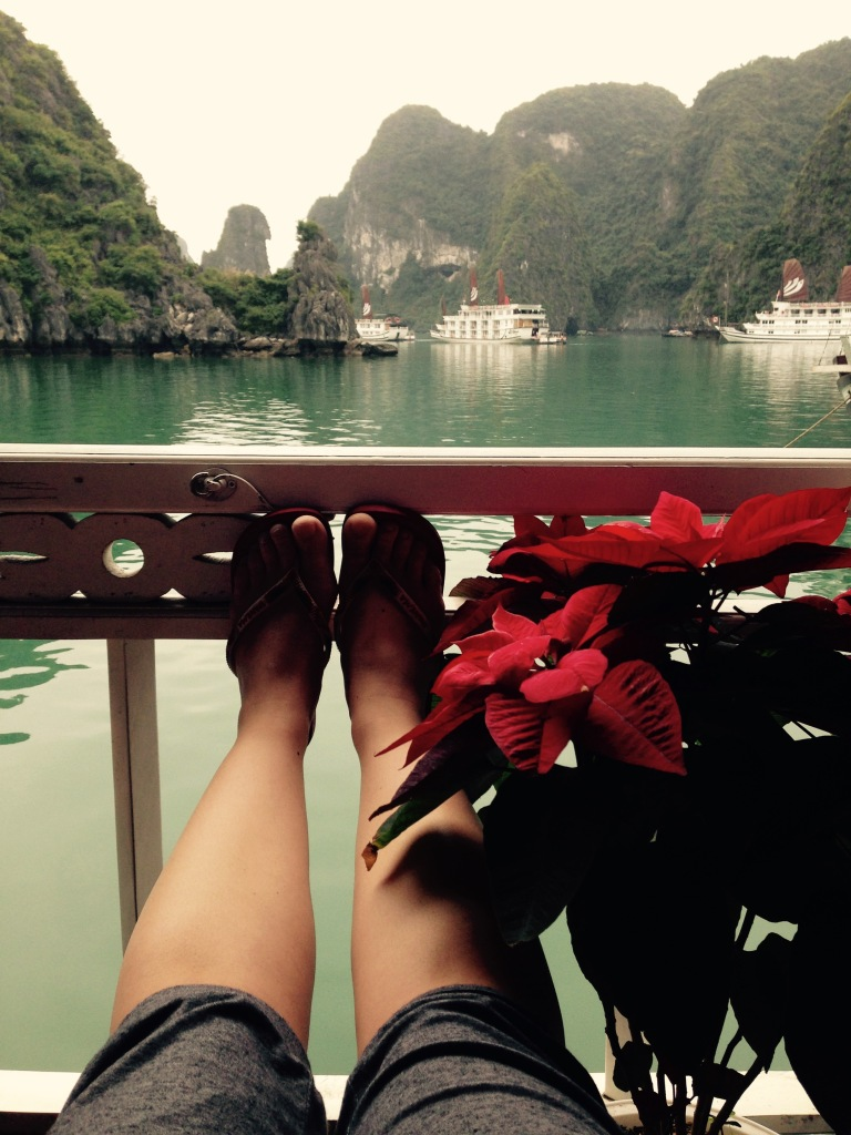 Room with a view - Garden Bay Cruise Halong Bay