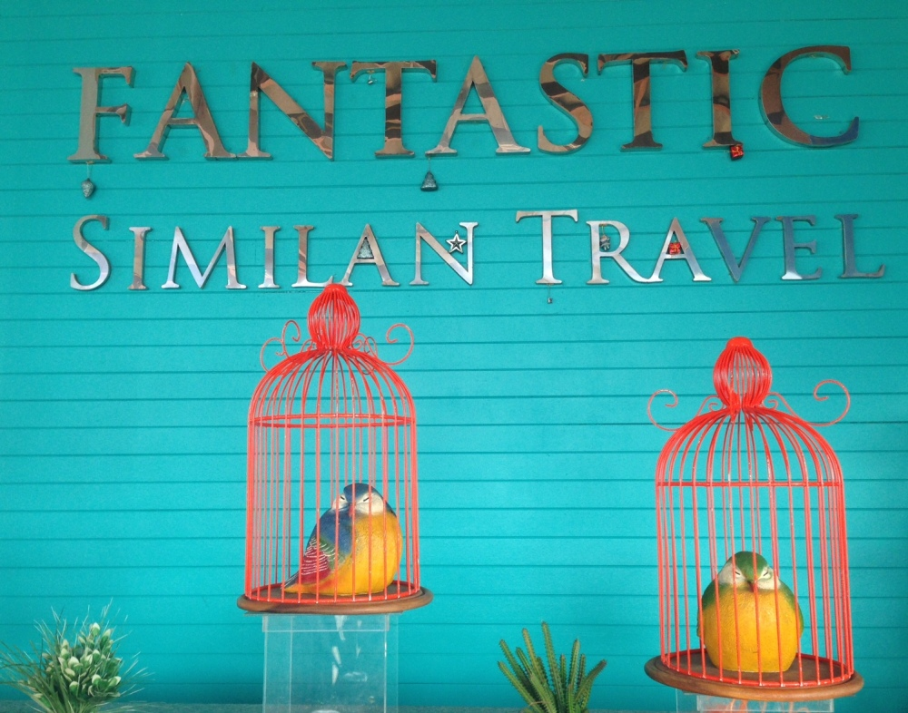 The staff of Fantastic Similan Travel took great care of us on our daytrip