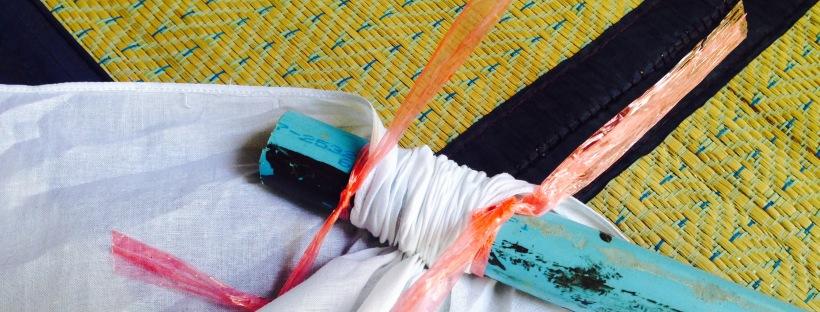 Handkerchief in the making