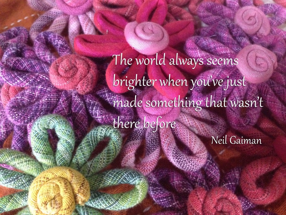 The world always seems brighter quote