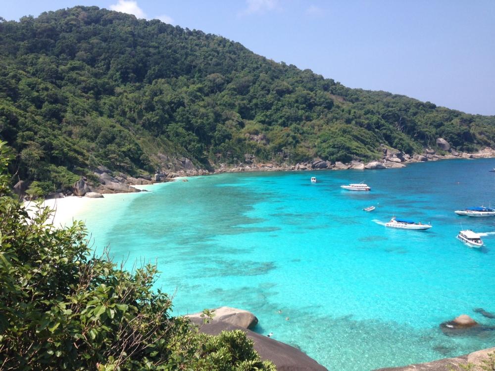View from Sail Rock Similan Island