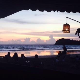 Sunset vibes on Saladan Beach