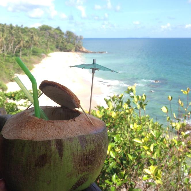 View from Diamond Cliff Beach Restaurant